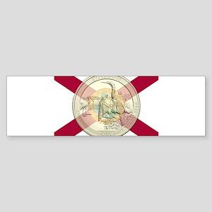 Florida Quarter 2014 Sticker (Bumper)