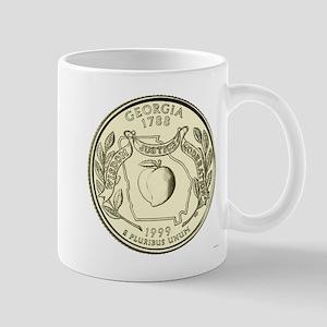 Georgia Quarter 1999 Basic 11 oz Ceramic Mug