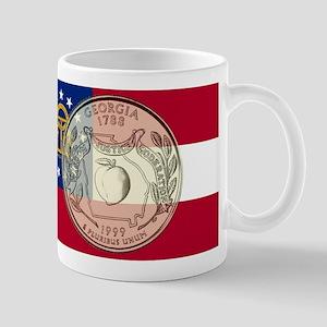 Georgia Quarter 1999 11 oz Ceramic Mug