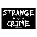 Strange Rectangle Sticker