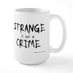 Strange Large Mug