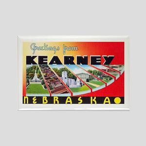 Kearney Nebraska Greetings Rectangle Magnet