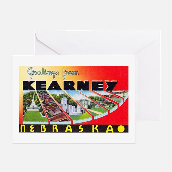 Kearney Nebraska Greetings Greeting Card
