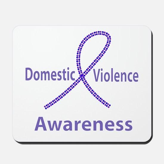 Domestic Violence Awareness Mousepad