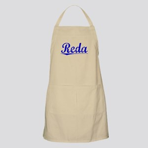 Reda, Blue, Aged Apron
