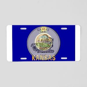 Kansas Quarter 2005 Aluminum License Plate