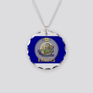 Kansas Quarter 2005 Necklace Circle Charm