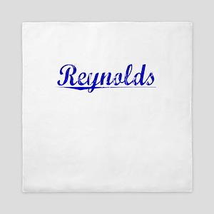 Reynolds, Blue, Aged Queen Duvet