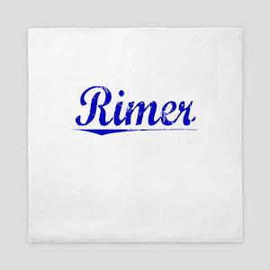 Rimer, Blue, Aged Queen Duvet
