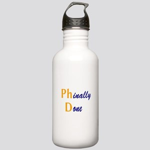 Phinally Done Stainless Water Bottle 1.0L