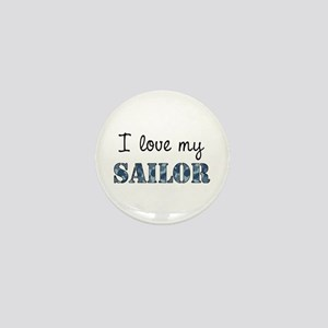 I love my Sailor Mini Button