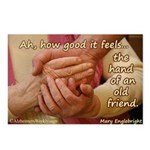The Hand of an Old Friend Postcards (Package of 8)