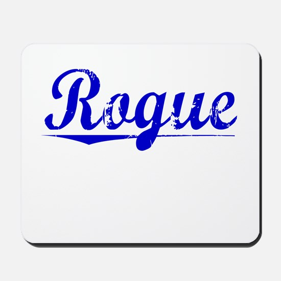 Rogue, Blue, Aged Mousepad