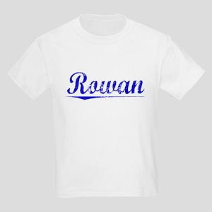 Rowan, Blue, Aged Kids Light T-Shirt