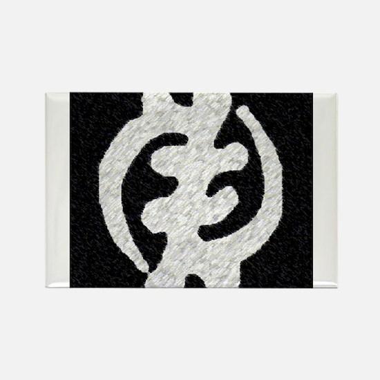 Cute Adinkra symbols Rectangle Magnet