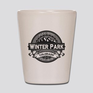 Winter Park Grey Shot Glass