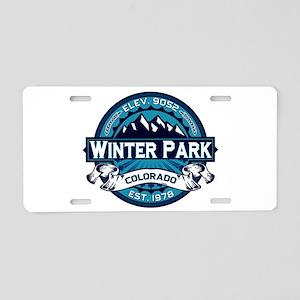 Winter Park Ice Aluminum License Plate