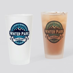 Winter Park Ice Drinking Glass
