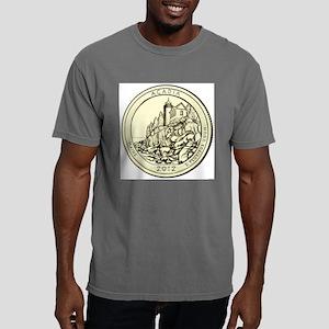 Maine Quarter 2012 Mens Comfort Colors Shirt
