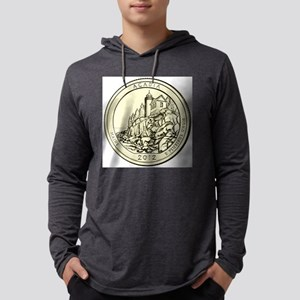Maine Quarter 2012 Mens Hooded Shirt