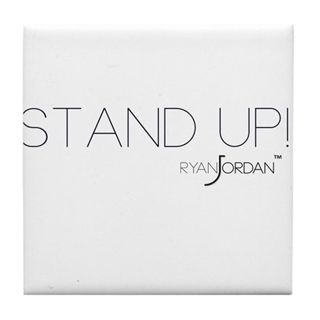 Ryan Jordan - Stand Up Tile Coaster