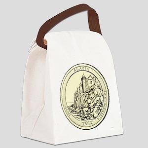 Maine Quarter 2012 Canvas Lunch Bag