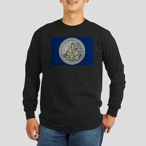Maine Quarter 2012 Long Sleeve Dark T-Shirt