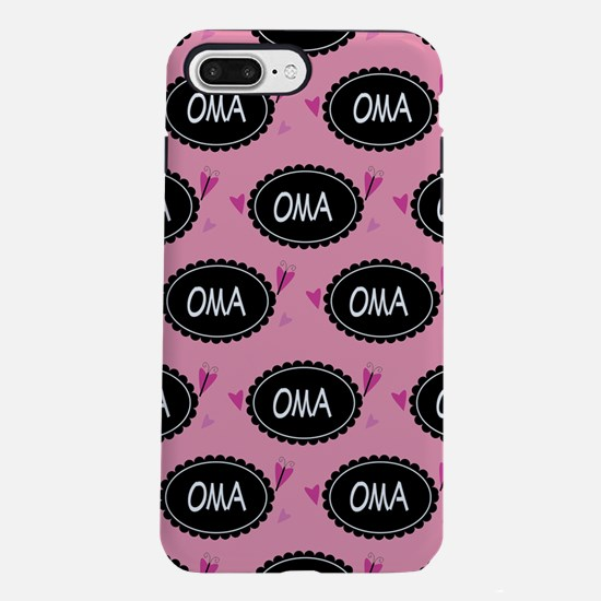 Cute Oma Gift iPhone 7 Plus Tough Case