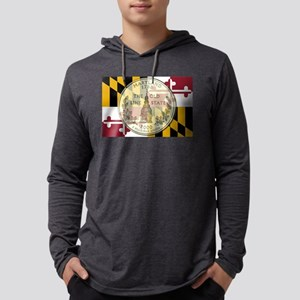 Maryland Quarter 2000 Mens Hooded Shirt
