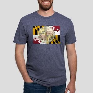 Maryland Quarter 2000 Mens Tri-blend T-Shirt