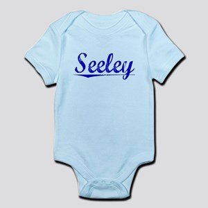 Seeley, Blue, Aged Infant Bodysuit