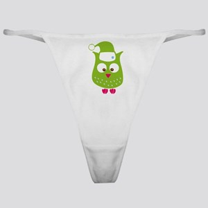 Christmas Owl Classic Thong
