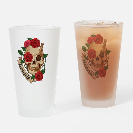 bonnie and clyde Drinking Glass