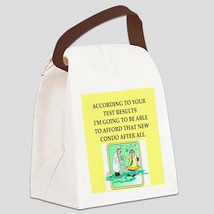 icu doctor joke gift apparel Canvas Lunch Bag