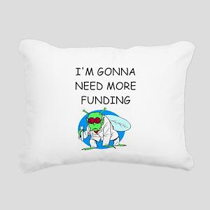 BIOLOGY Rectangular Canvas Pillow