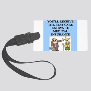 DOCTOR2 Large Luggage Tag