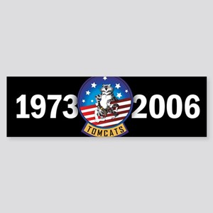Tomcat Years Bumper Sticker