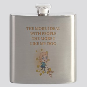 geek dog philosophy gists t-shirts Flask