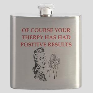funny geek drugs brain joke gifts t-shirts Flask