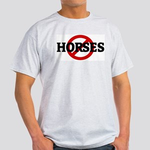Anti HORSES Ash Grey T-Shirt
