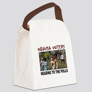 OBAMA ZOMBIES Canvas Lunch Bag
