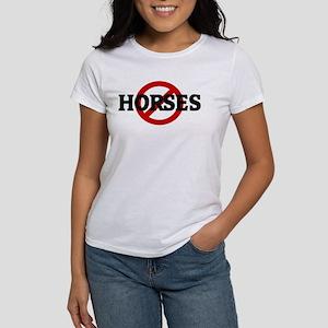 Anti HORSES Women's T-Shirt