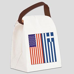 usgreece Canvas Lunch Bag
