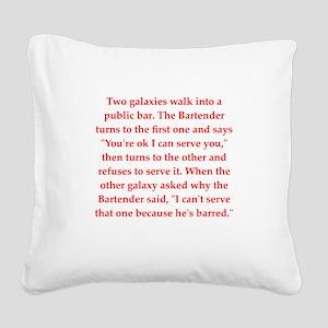 26 Square Canvas Pillow