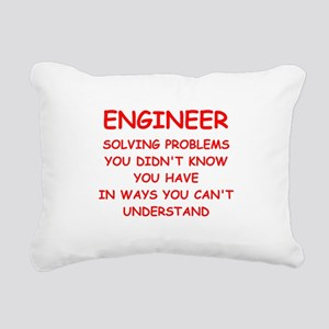 ENGINEER3 Rectangular Canvas Pillow