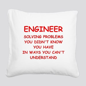 ENGINEER3 Square Canvas Pillow