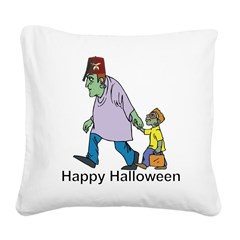 The Kindly Shriner Square Canvas Pillow
