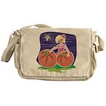 OES Halloween Pumpkin Patch Messenger Bag