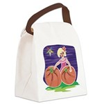 OES Halloween Pumpkin Patch Canvas Lunch Bag