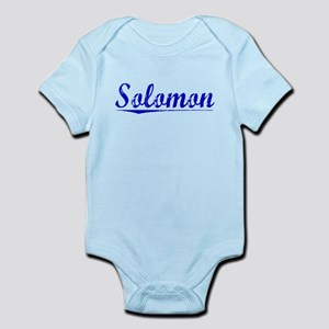 Solomon, Blue, Aged Infant Bodysuit